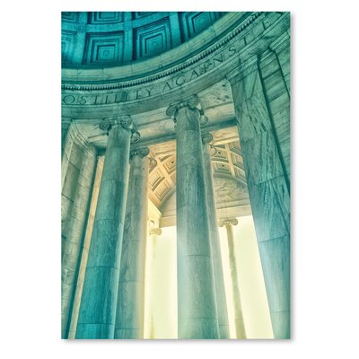 Americanflat 'Jefferson Memorial 17' by Golie Miamee Photographic Print