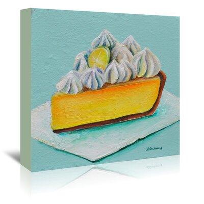 Americanflat 'Lemon Meringue' by JJ Galloway Art Print Wrapped on Canvas