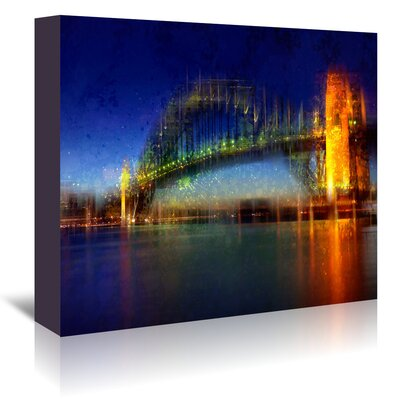 Americanflat 'City Art Sydney' by Melanie Viola Graphic Art Wrapped on Canvas