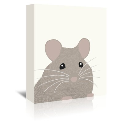 Americanflat 'Demon Mouse' by Jorey Hurley Art Print Wrapped on Canvas