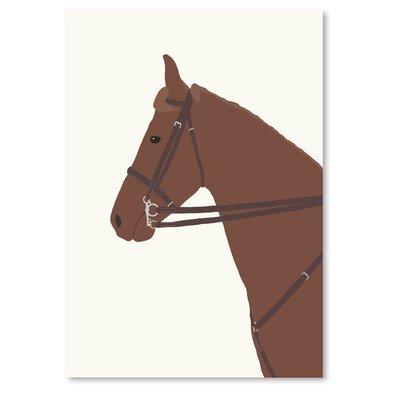 Americanflat 'Police Horse' by Jorey Hurley Art Print