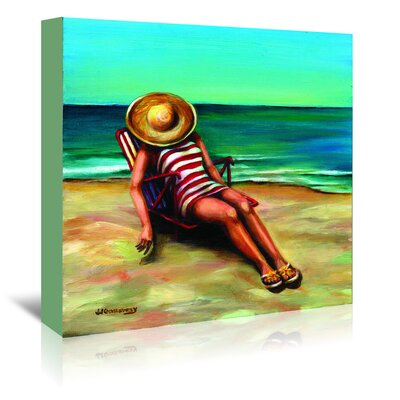 Americanflat Bathing Beauty I' by JJ Galloway Art Print Wrapped on Canvas