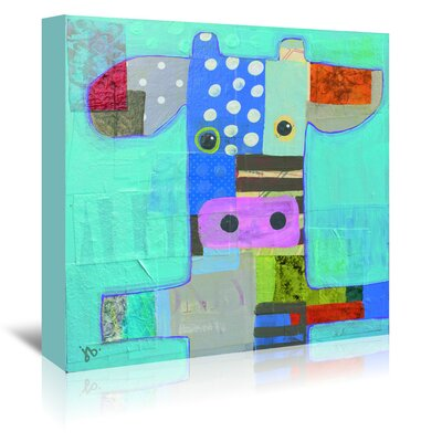 Americanflat 'Cow' by Julie Beyer Art Print Wrapped on Canvas