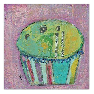 Americanflat 'Cupcake II (Green Icing)' by Julie Beyer Art Print