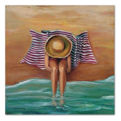 Americanflat 'Bathing Beauty II' by JJ Galloway Art Print