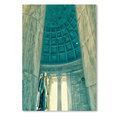 Americanflat 'Jefferson Memorial 22' by Golie Miamee Photographic Print