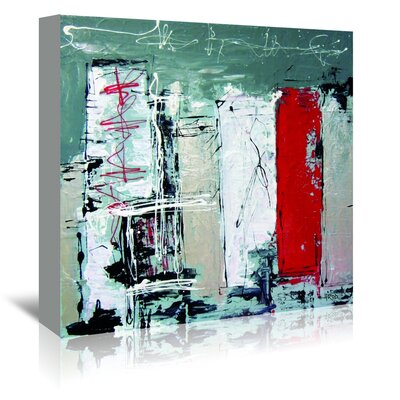 Americanflat 'Urbanit 1.2' by Annie Rodrigue Art Print Wrapped on Canvas
