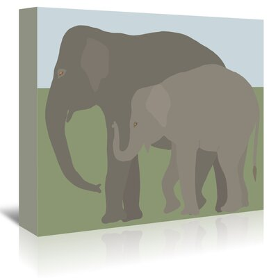 Americanflat 'Elephant' by Jorey Hurley Art Print Wrapped on Canvas