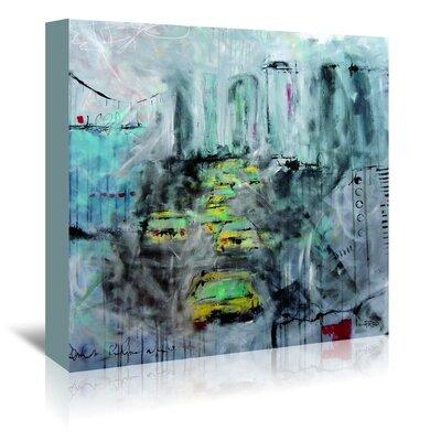 Americanflat Urbanite-U 5' by Annie Rodrigue Art Print Wrapped on Canvas