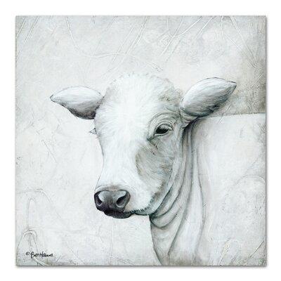 Americanflat January Cow II' by Britt Hallowell Art Print