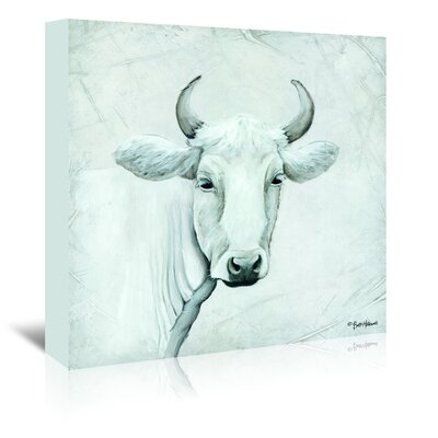 Americanflat 'January Cow I' by Britt Hallowell Art Print Wrapped on Canvas