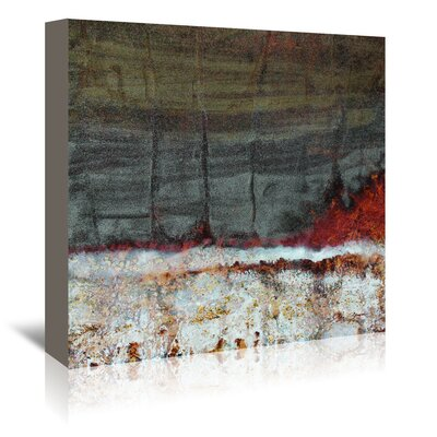 Americanflat 'Fire & Ice' by Jay Zinn Art Print Wrapped on Canvas