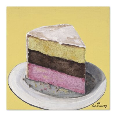 Americanflat 'Neapolitan Slice' by JJ Galloway Art Print