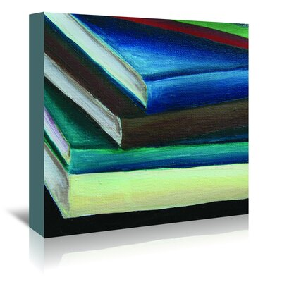 Americanflat All Stacked Up' by JJ Galloway Art Print Wrapped on Canvas