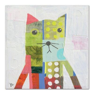 Americanflat 'Cat' by Julie Beyer Art Print