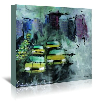 Americanflat 'Urbanit-E 5' by Annie Rodrigue Art Print Wrapped on Canvas