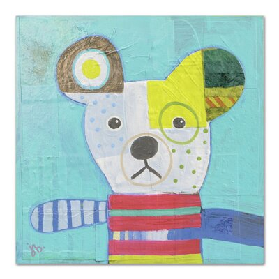 Americanflat 'Dog' by Julie Beyer Art Print