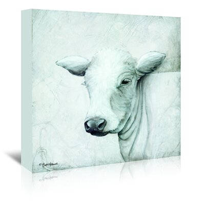 Americanflat 'January Cow II' by Britt Hallowell Art Print Wrapped on Canvas