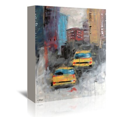 Americanflat Street' by Annie Rodrigue Art Print Wrapped on Canvas