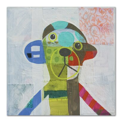 Americanflat Monkey' by Julie Beyer Art Print