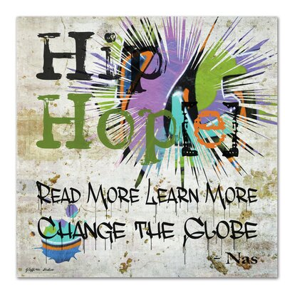 Americanflat Hip Hop Hope Read More Learn More' by Graffi Tee Studios Graphic Art