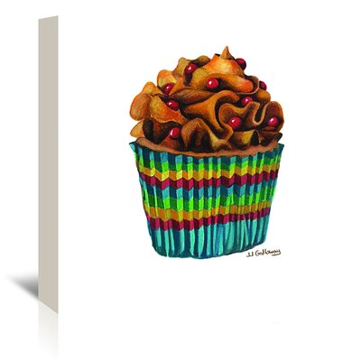 Americanflat Carny Cupcake' by JJ Galloway Art Print Wrapped on Canvas