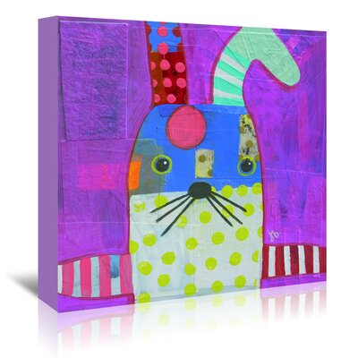 Americanflat 'Rabbit' by Julie Beyer Art Print Wrapped on Canvas