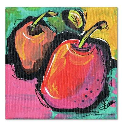 Americanflat Zany Apples' by Terri Einer Art Print