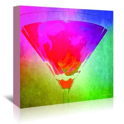 Americanflat 'Twist Rainbow' by Graffi Tee Studios Art Print Wrapped on Canvas