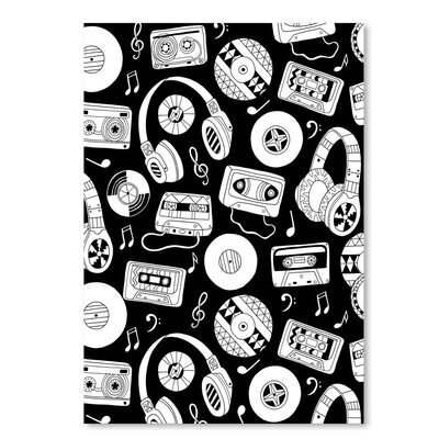 Americanflat 'Music' by Advocate Art Graphic Art