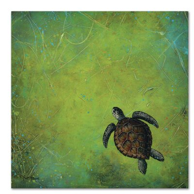 Americanflat Slow and Steady' by Britt Hallowell Art Print