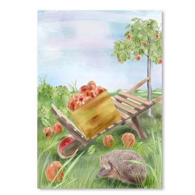 Americanflat 'Fall Apples' by Advocate Art Art Print