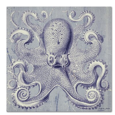 Americanflat 'Octopus I' by Graffi Tee Studios Graphic Art