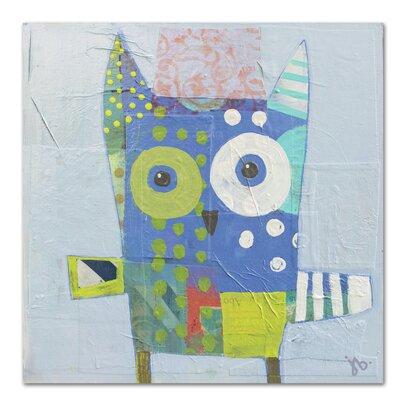 Americanflat Owl' by Julie Beyer Art Print