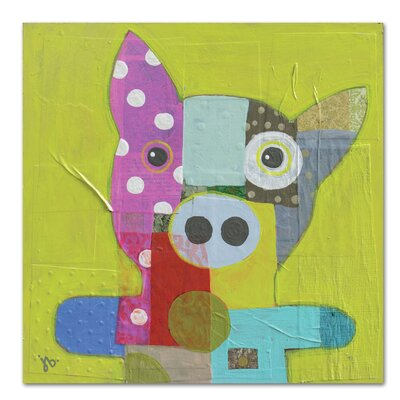 Americanflat 'Pig' by Julie Beyer Art Print