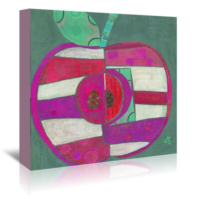 Americanflat Apple' by Julie Beyer Art Print Wrapped on Canvas