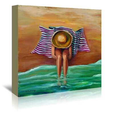 Americanflat 'Bathing Beauty II' by JJ Galloway Art Print Wrapped on Canvas