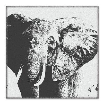 Americanflat 'Elephant - Strength' by Graffi Tee Studios Photographic Print