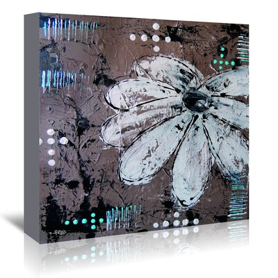 Americanflat Fleur CraMe' by Annie Rodrigue Art Print Wrapped on Canvas