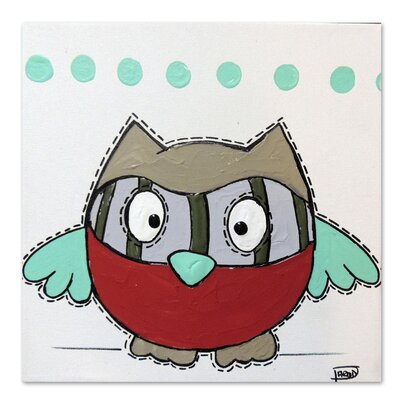 Americanflat 'Owl 2' by Annie Rodrigue Art Print