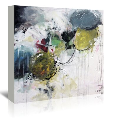 Americanflat 'Motus Aux Citrons' by Annie Rodrigue Art Print Wrapped on Canvas