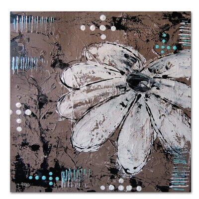 Americanflat 'Fleur CraMe' by Annie Rodrigue Art Print