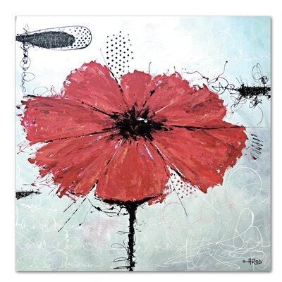 Americanflat 'Flower' by Annie Rodrigue Art Print