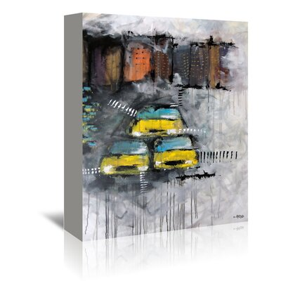 Americanflat 'Urbanit 3466' by Annie Rodrigue Art Print Wrapped on Canvas