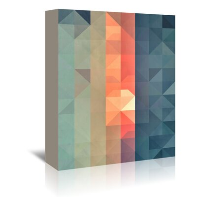 Americanflat 'Dywnyng Ynww' by Spires Graphic Art Wrapped on Canvas