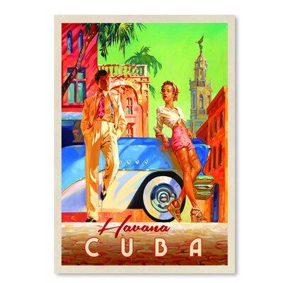 Americanflat Havana Cuba' by Joel Anderson Vintage Advertisement