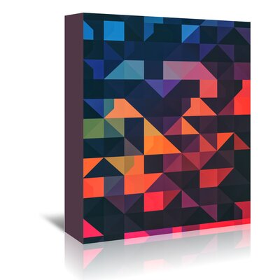 Americanflat 'Flyt Nyce' by Spires Graphic Art Wrapped on Canvas