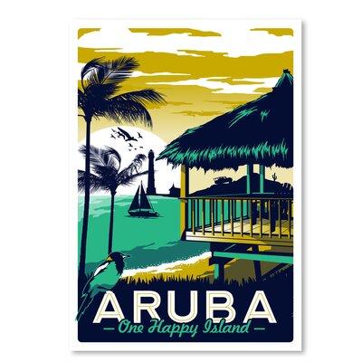 Americanflat 'Aruba' by Matthew Schnepf Vintage Advertisement