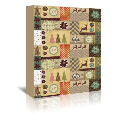 Americanflat 'Holiday Joy' by Advocate Art Graphic Art Wrapped on Canvas
