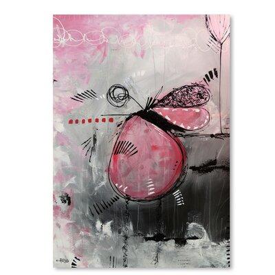 Americanflat 'Motus Aux Fraises' by Annie Rodrigue Art Print